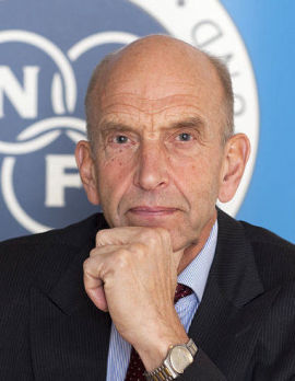 <p>Finn Tveter, direktør i NEF</p>