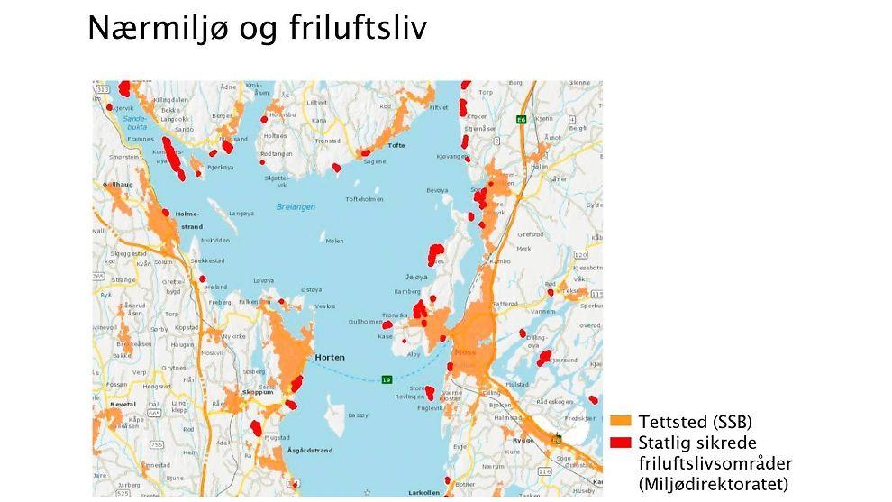 kart over oslofjorden Her er konfliktene som kan stoppe bruer og tunneler over  kart over oslofjorden