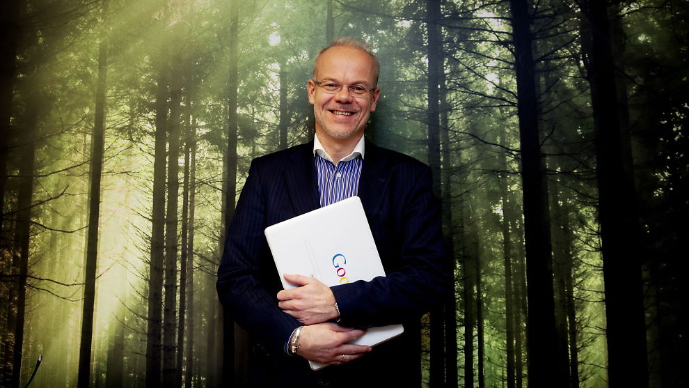 <p>LYSER IKKE UT: Google-sjef Jan Grønbech trenger ikke stillingsannonser. Søkerne kommer til Google.<br/></p>