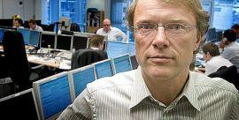 <p><b>SJEFSTRATEG:</b> Peter Hermanrud i Swedbank First Securities venter seg en resultatvekst på rundt fem prosent for selskapene på Oslo Børs i første kvartal, vesentlig lavere enn i siste halvår i fjor.<br/></p>