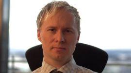 <p><b>TRO PÅ STATOIL:</b> Analyssjef i Netfonds, Roger Berntsen.<br/></p>