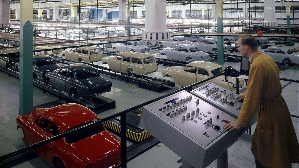 Volvos Viktigste Fabrikk Er 50 229 R Bil E24