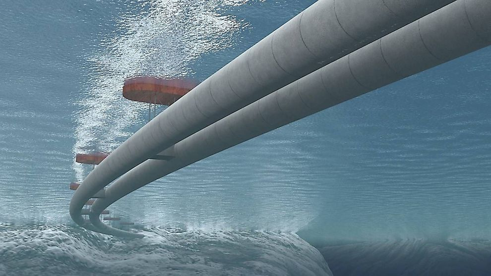 <p><b>NY LØSNING?</b> Rørbroer kan bli en av løsningene for å krysse brede og dype vestlandsfjorder.</p>
