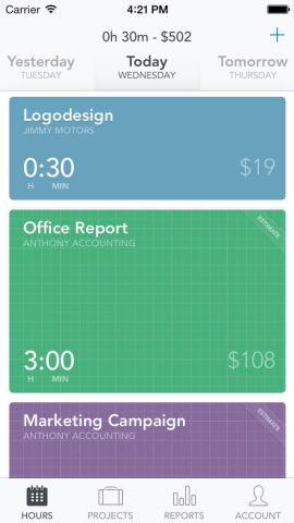 <p>Slik ser Timely-appen ut på iPhone. Nå skal den videre ut på andre plattformer.<br/></p>