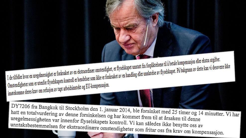 han onsker uten forpliktelser norweigian