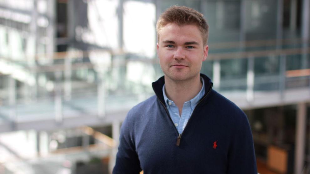 <p><b>UT PÅ TUR:</b> BI-student Christian Høie Lie skal for første gang reise til Singapore for å lære om gründervirksomhet i Asia. Han tror dette vil gi ham et fortrinn i arbeidslivet.<br/></p>
