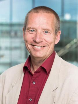 <p><b>POSITIV:</b> Kommuniskasjonsdirektør Øyvind Lind-Fossen i NHO.</p>