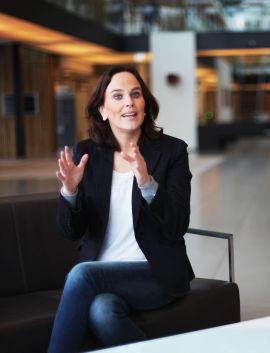 <p>Hanne Gudding, kommunikasjonssjef i Storebrand.</p>