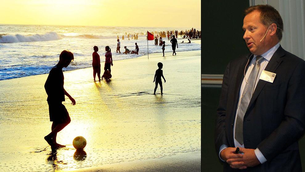 <p><b>RASENDE</b>: McKinsey-topp og krise-finansminister på Island, Svein Harald Øygard, mener statlig støtte til norske studenter som utdanner seg til personlig trener på Bali, er noe regjeringen må rydde opp i dersom den skal være troverdig i produktivitetsarbeidet.<br/></p>