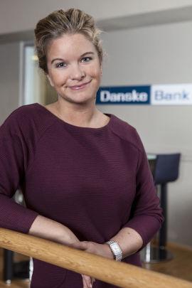 Kommunikasjonsrådgiver Silje Arntsberg, Danske Bank.