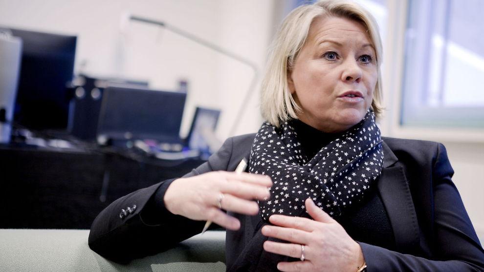 <p><b>SER MOT AFRIKA:</b> Monica Mæland (H) vil ha mer norsk involvering på det afrikanske kontinent. <b><br/></b></p>