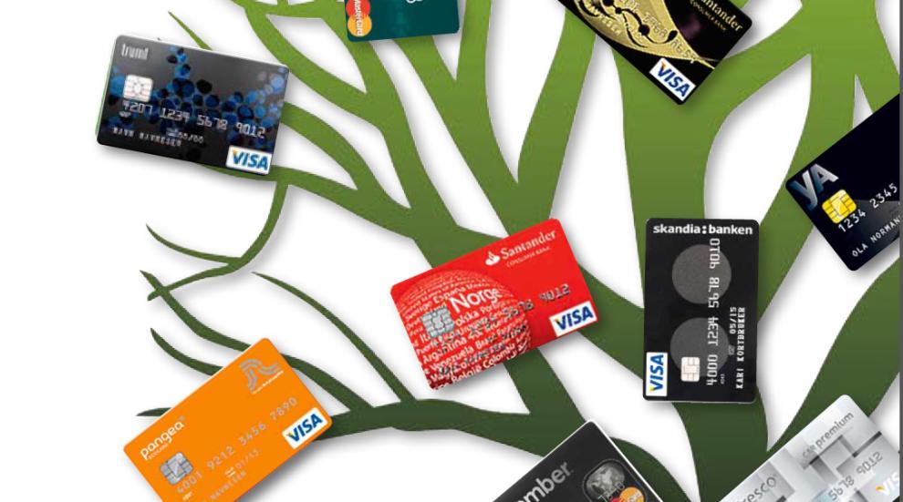 """<p><b>TEST:</b> Skandiabanken kommer på nytt på førsteplass i Dine Pengers kåring over de beste kredittkortene. Er du en """"disiplinert"""" bruker, må du finne kortet som passer best for din bruk. Illustrasjon: Dine Penger<br/></p>"""