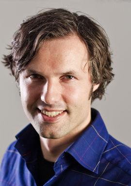 <p>Johnny Anderson, leder for marked og kommunikasjon i Skandiabanken</p>