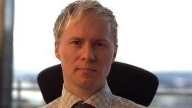 <p><b>HADDE TJENT PÅ Å SELGE:</b> Analysesjef i Netfonds, Roger Berntsen.<br/></p>