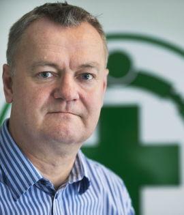 <p><b>TRYGT:</b> Informasjonssjef Håkon Ødegaard i Norsk Folkehjelp mener investeringen i det irske hedgefondet Nordic Alpha er trygt.<br/></p>