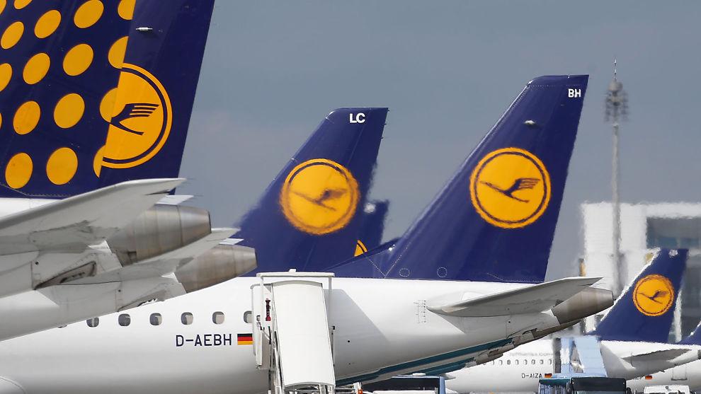 <p><b>SATSER NYTT:</b> Tyske Lufthansa starter opp nye utenlandsruter, på strekninger hvor Norwegian opererer.<br/></p>