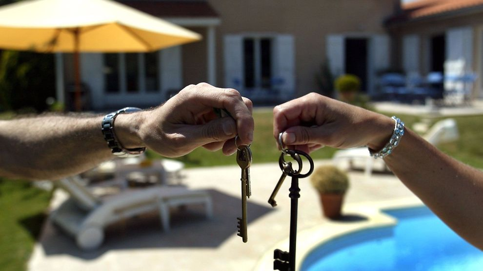 bytte hus i ferien