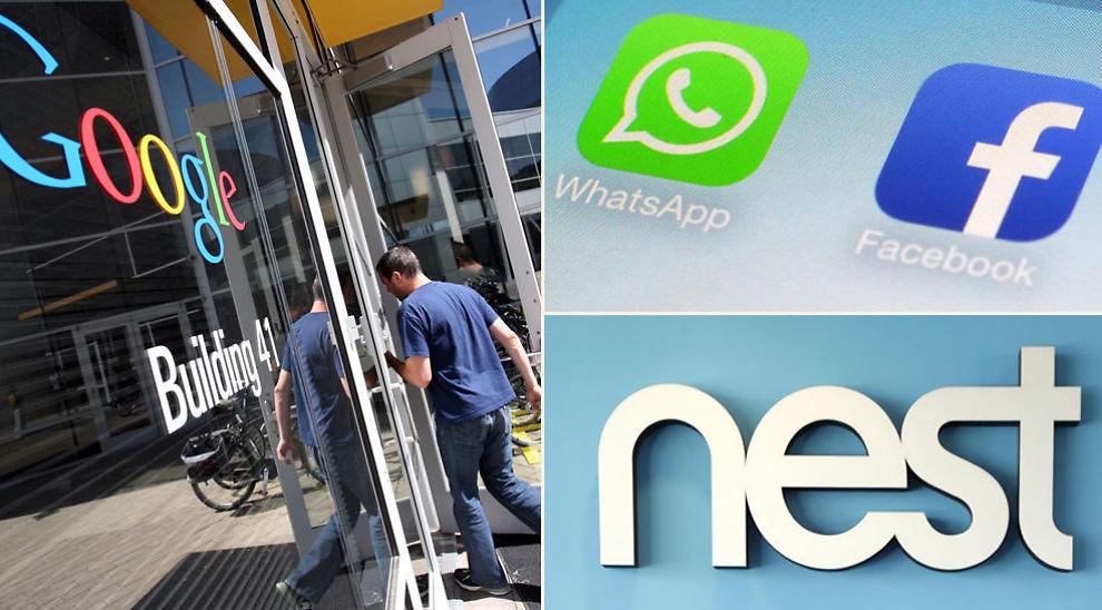 <p><b>ADVARER MOT BOBLETILSTAND:</b> Facebooks oppkjøp av WhatsApp og Googles oppkjøp av Nest Labs er transaksjonene som får Skagenfondene til å advare mot ny IT-boble.</p>