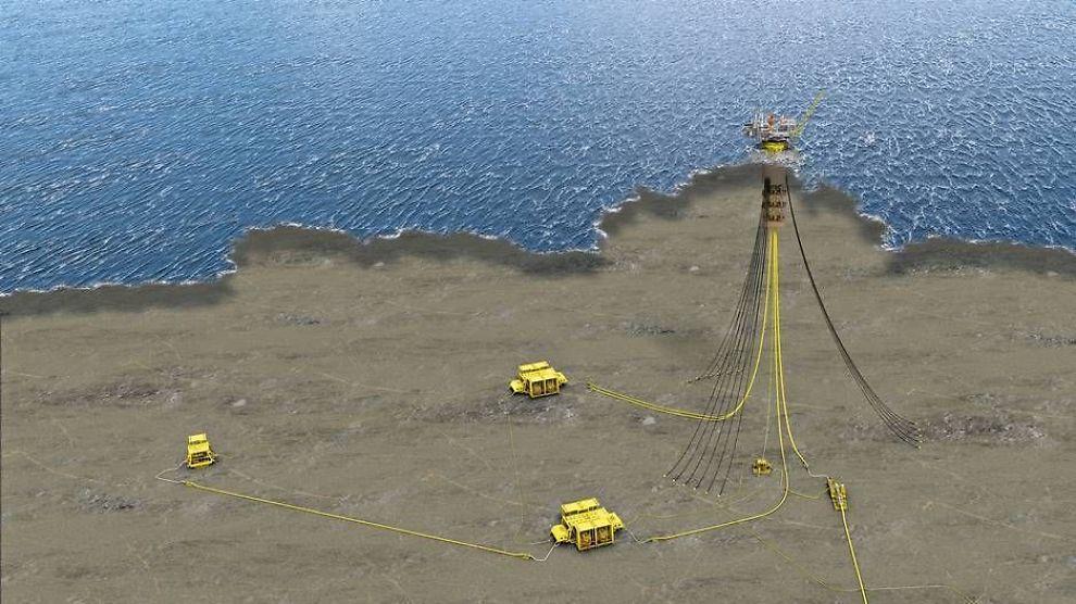 <p><b>SJU BRØNNER:</b> To subsea produksjonsanlegg får fire brønner hver, og én med kun én. Subsea 7 skal installere 19 kilometer rørledninger og fire stigerør ned til «Aasta Hansteen»-feltet.</p>