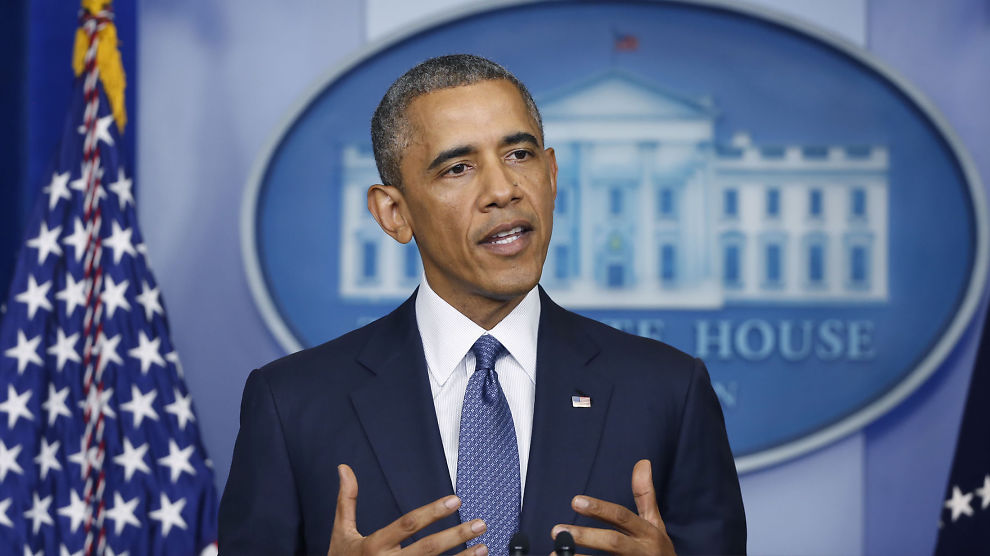 <p><b>TOPPMØTE:</b> USAs president Barack Obama er vertskap for et tre dager langt amerikansk-afrikansk toppmøte i Washington.</p>
