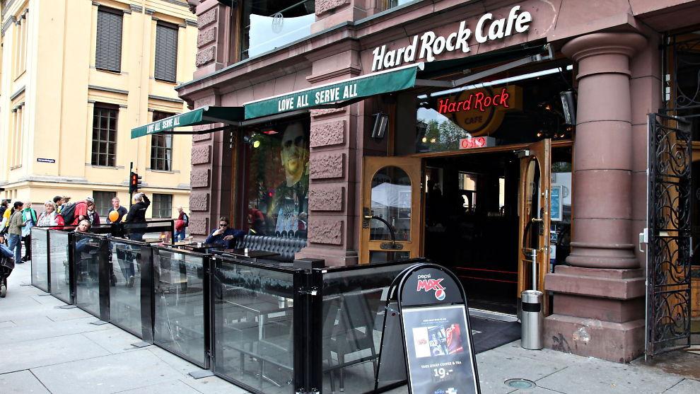 Hard Rock Cafe Oslo T Shirt