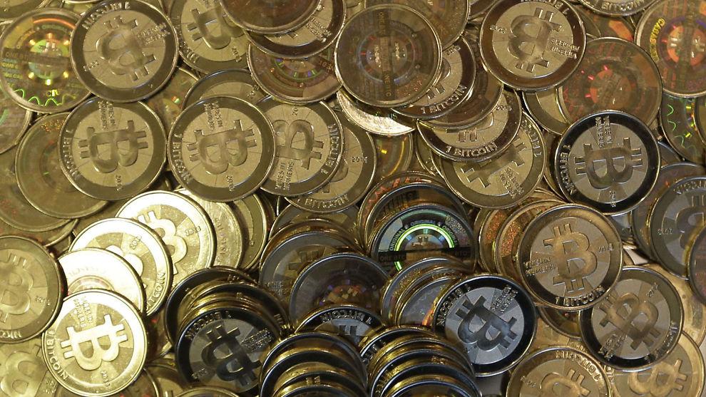 Bitcoin pris nok