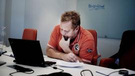 <p>Styreleder Tom Hilding Johansen (48)<br/></p>