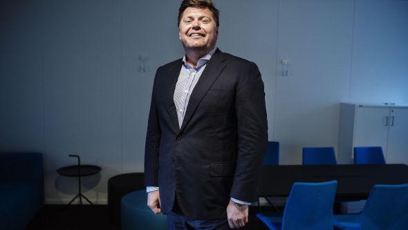 <p><b>NOFAS-LEDER:</b> Daglig leder Lars Henrik Krogh (47) i selskapet Nofas, som han også eier 34 prosent av aksjene i.<br/></p>