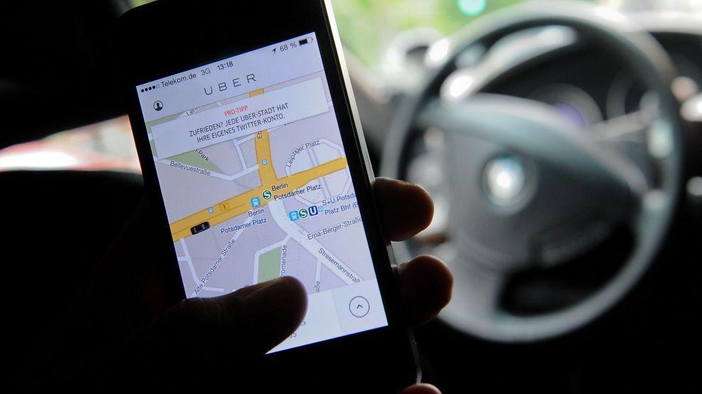 <p><b>FORBUD:</b> Uber risikerer nå store bøter i Tyskland<br/></p>