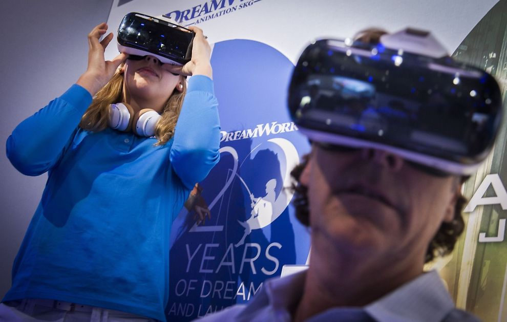 eda9cd69009f Samsung har lansert egen VR-brille - Samsung - Digital - E24