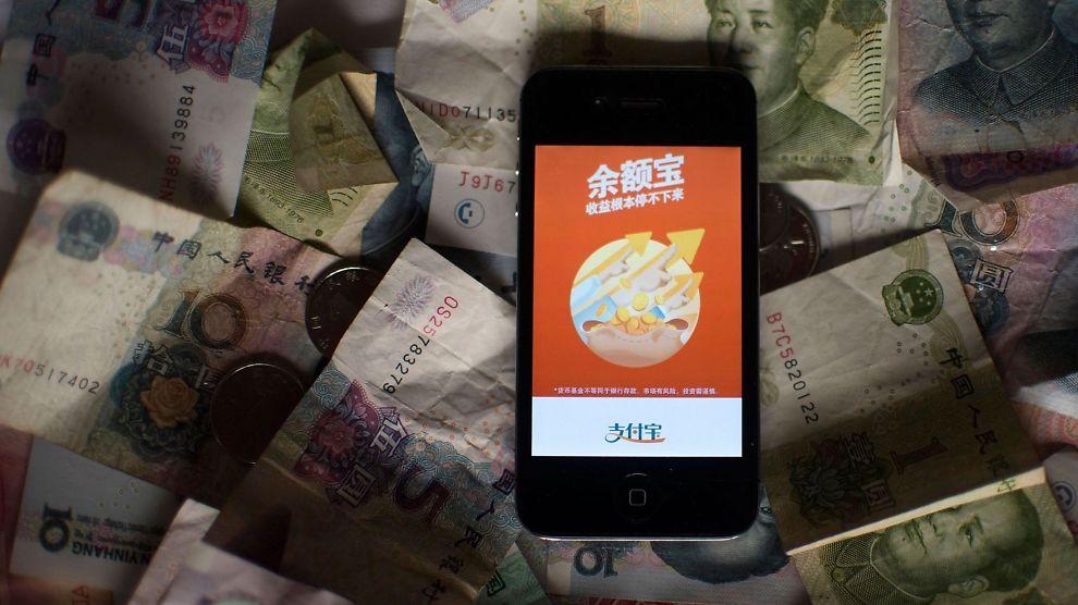 """<p align=""""left""""><b>UTFORDREREN:</b> Med tjenesten Yueabo har Alibabas betalingstjeneste skaffet seg en forvaltningskapital på <a href=""""http://www.businessspectator.com.au/article/2014/3/6/china/alibabas-yuebao-gives-chinas-banks-rude-awakening"""">over 90 milliarder dollar</a> - på kun åtte måneder.<br/></p>"""