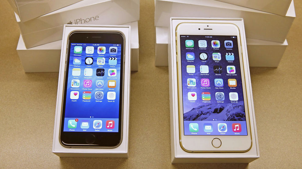 endre apple id på iphone