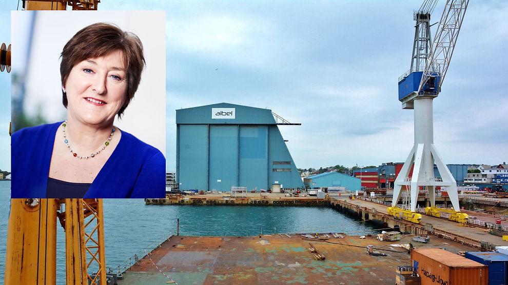 <p><b>NYE KUTT:</b> Kommunikasjonssjef Bjørg Sandal i oljeserviceselskapet Aibel sier de må fortsette å justere seg etter tynnere ordrebunke</p>