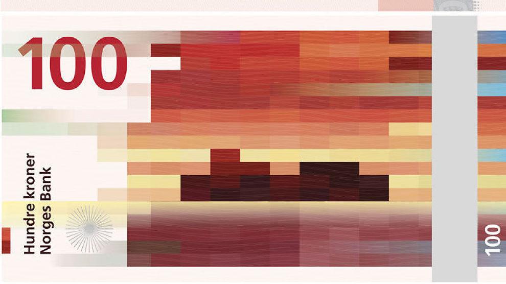 <p><b>PIKSELPENGER:</b> Dette pikselmotivet falt i smak hos Norges Bank som vil bruke det som utgangspunkt i sitt videre arbeid med nye sedler.<br/></p>