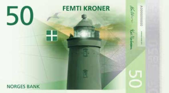 norske bank valuta