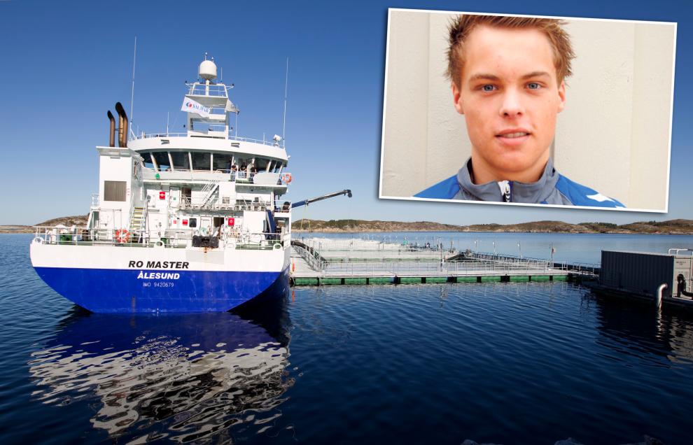 <p><b>PÅ TOPP:</b> For andre året på rad er Salmar-arvingen Norges rikeste laksebaron. Selv brukte han sommeren på å jobbe på fiskebåt.</p>