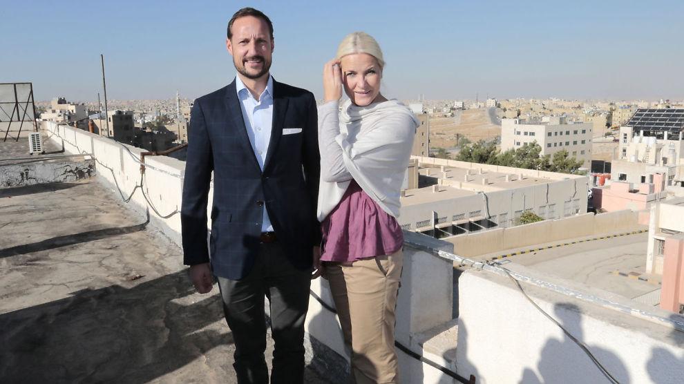 <p><b>HAR EGET FOND:</b> Stiftelsen Kronprinsparets Fond er bygget opp av penger kronprinsparet fikk i bryllupsgave fra det norske folk. Denne uken har de vært i Jordan.</p>