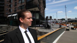 <p><b>SKEPTISK:</b> Seniorøkonom Marius Gonsholt Hov i Handelsbanken Capital Markets.</p>