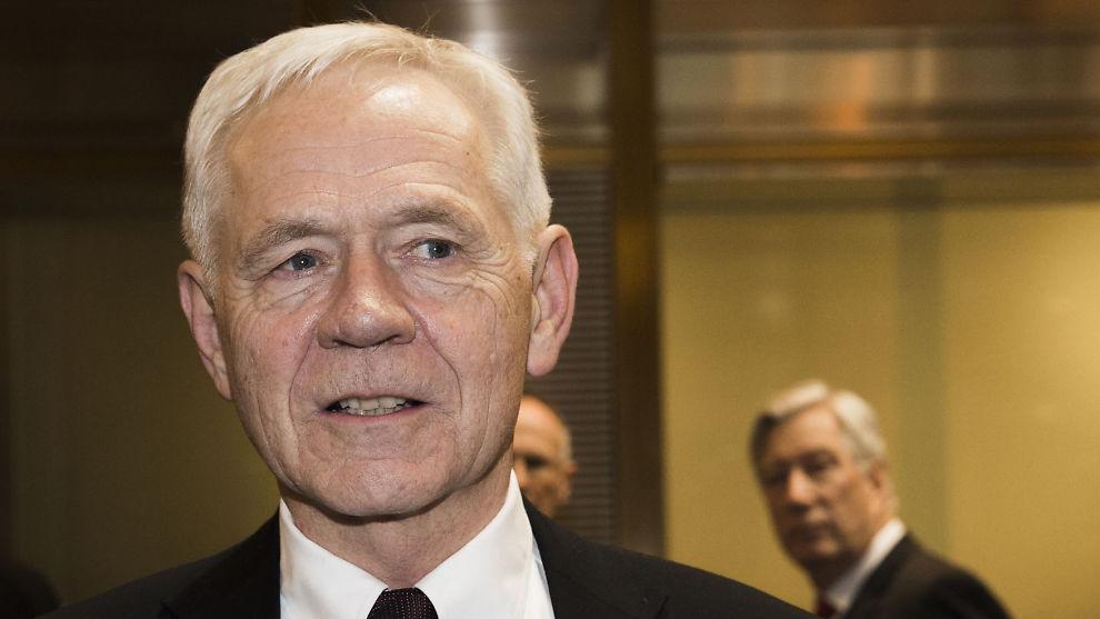 <p><b>HØYRE-MANN:</b> Victor D. Norman var arbeids- og administrasjonsminister i Bondevik-regjeringen. Han representerer fortsatt Høyre, nå i bystyret i Bergen.<br/></p>