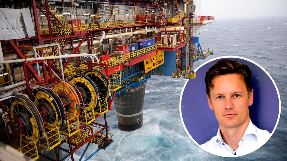 <p><b>VARIG OLJENEDGANG:</b> Sjeføkonom Bjørn Roger Wilhelmsen i Nordkinn Asset Management tror oljenedgangen vil vare i flere år.</p>