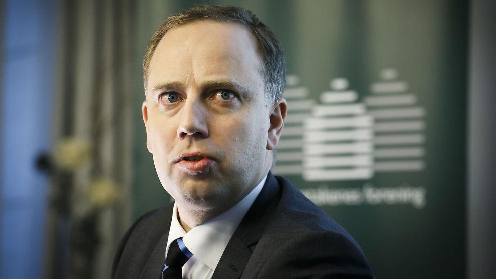 <p><b>FINANSTILSYNET SIER NEI:</b> Administrerende direktør i Eiendom Norge, Christian Vammervold Dreyer, innrømmer at det ikke slo organisasjonen at loven kunne stå i veien for obligatorisk tilstandsrapport.<br/></p>