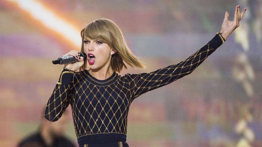 <p><b>MOT SPOTIFY:</b> Amerikanske Taylor Swift har nettopp sluppet album og trukket all sin musikk fra Spotify.</p>