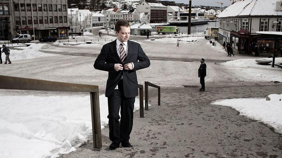<p><b>FORLATER SKUTA:</b> Harald Espedal takker av etter 13 år i sjefsstolen til Skagenfondene.<br/></p>