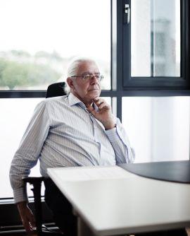 <p><b>SELGER</b>: Skagen-gründer Kristoffer Stensrud.<br/></p>