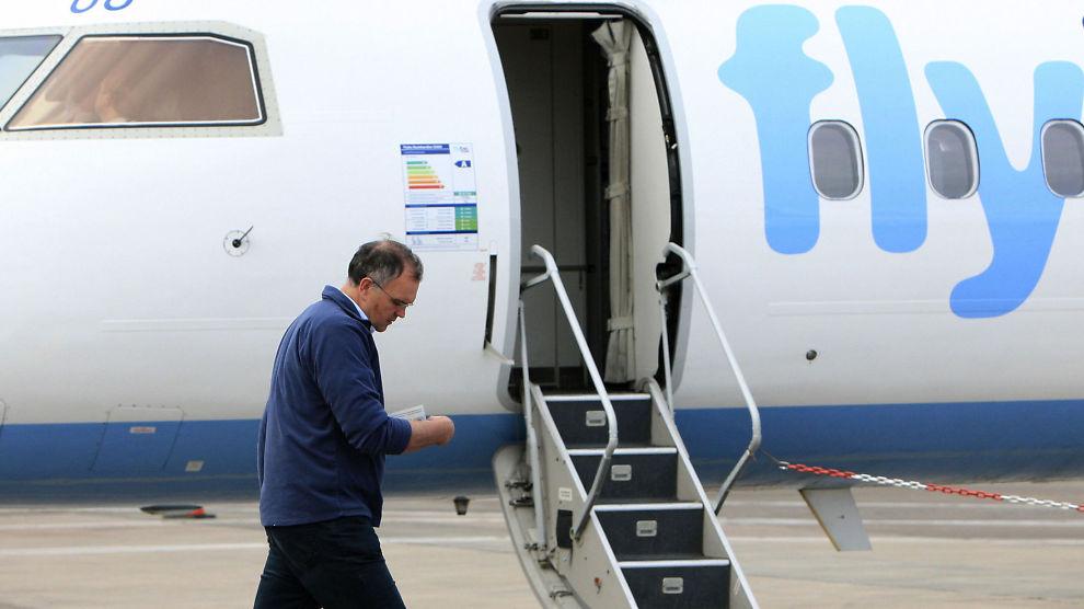 <p><b>FLY FOR SAS:</b> Snart skal britiske Flybe fly korte ruter for SAS.<br/><br/></p>