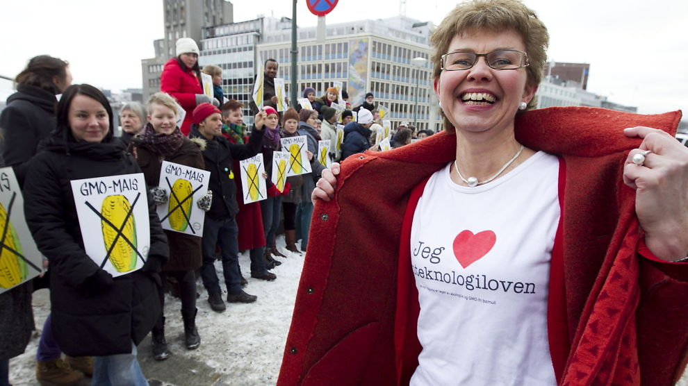 <p>NY NEI-LEDER: Kathrine Kleveland er valgt inn som leder for Nei til EU.<br/></p>