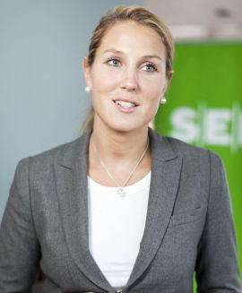 <p>Sjefstrateg Erica Blomgren i Seb<br/></p>