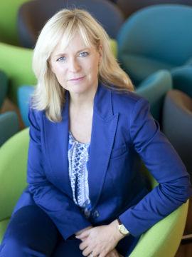 <p>Kommunikasjonsdirektør Christine Korme i Microsoft Norge.<br/></p>