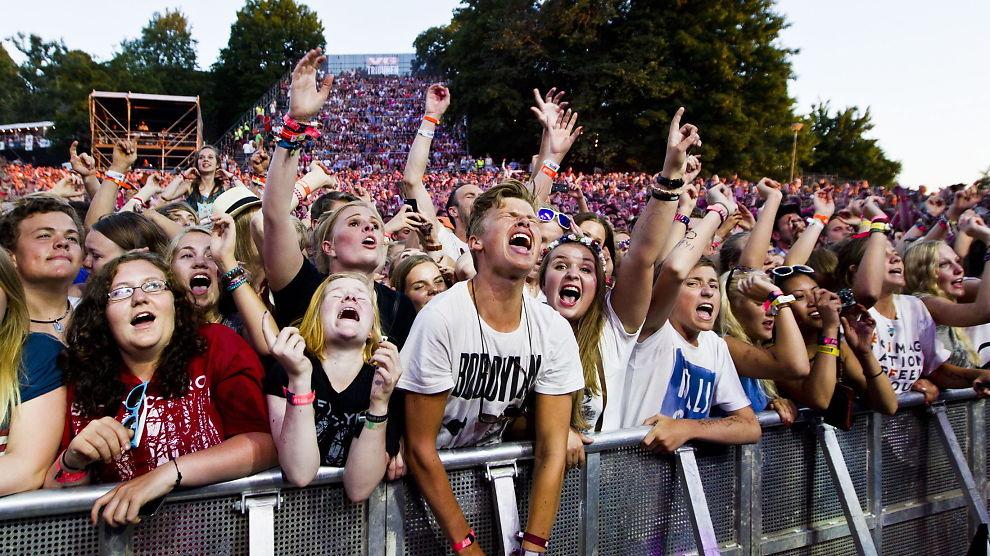 <p><b>ENKLERE.</b> Flere festivaler har endret betalingsvilkårene sine slik at det blant annet blir enklere å få tilbake ubrukte penger i etterkant. Her fra Slottsfjellfestivalen i 2013.</p>