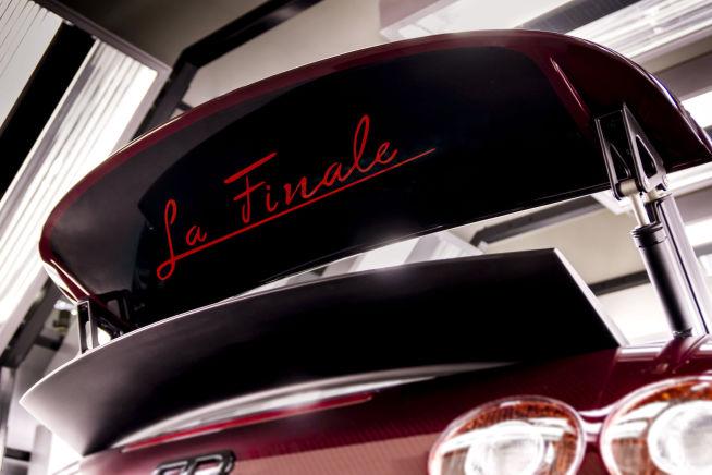"""<b>DEN ALLER SISTE:</b> Bugatti Veyron Grand Sport Vitesse """"La Finale"""" ble den siste av sin art."""